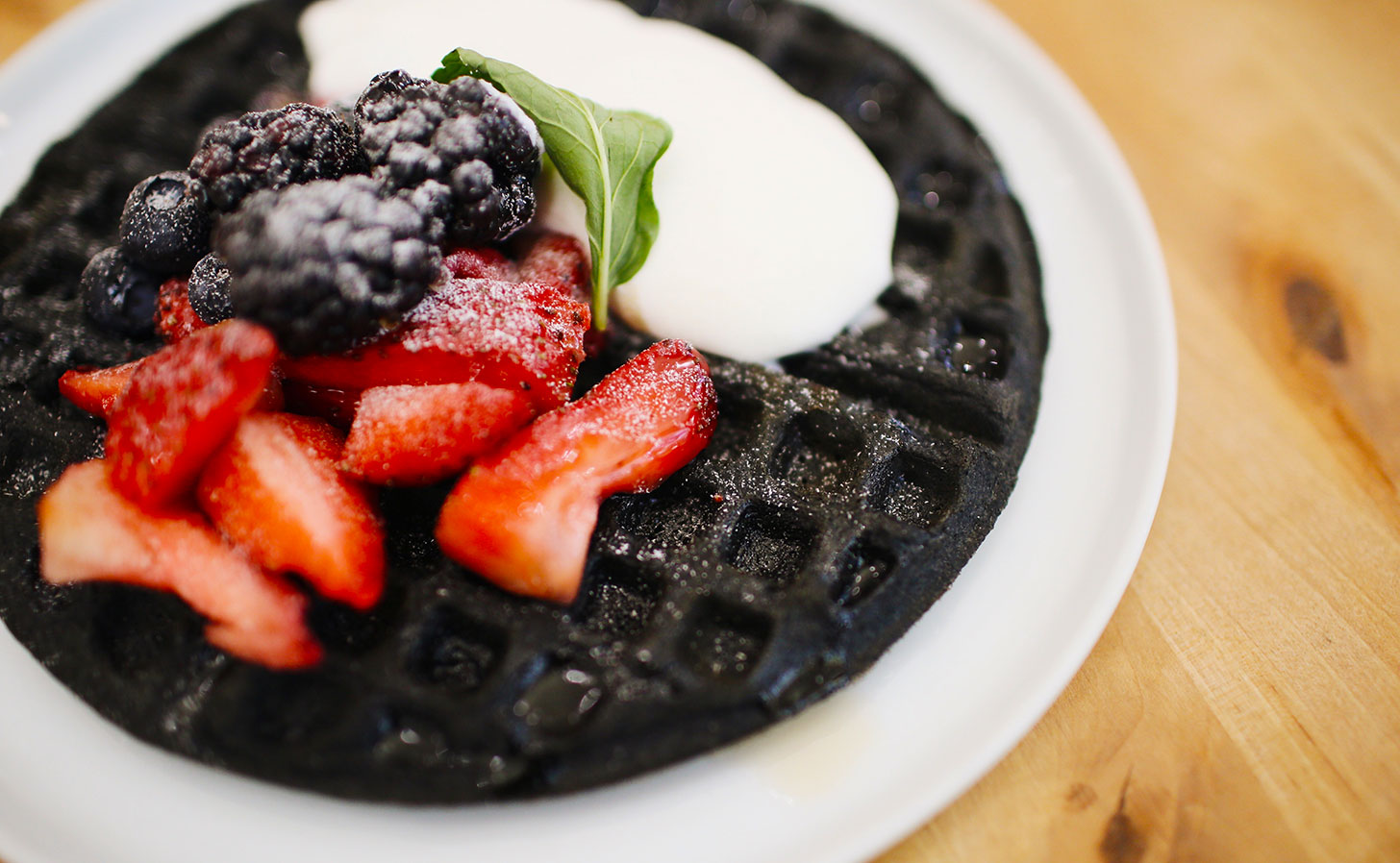 Black Waffle. Photo: Fallon Michael / Unsplash