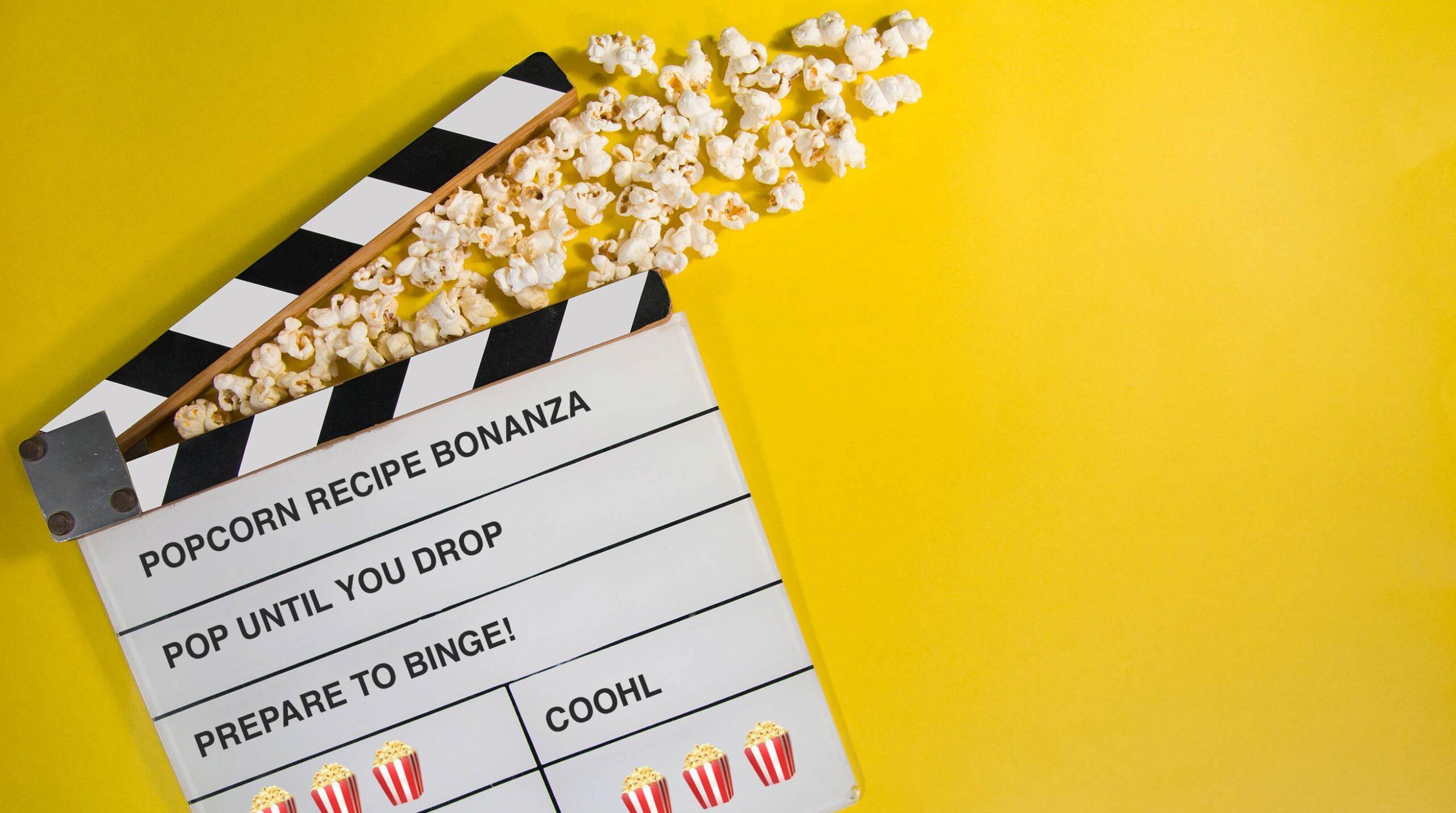 Popcorn Recipe Bonanza!