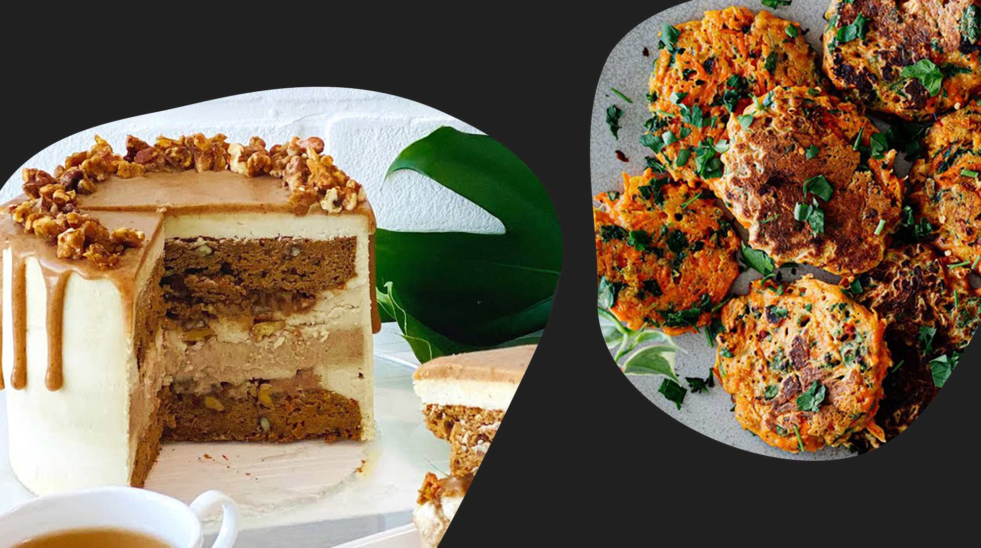 Watch 22 vegan carrot recipes from YouTube (Image: Collage of YouTube stills)