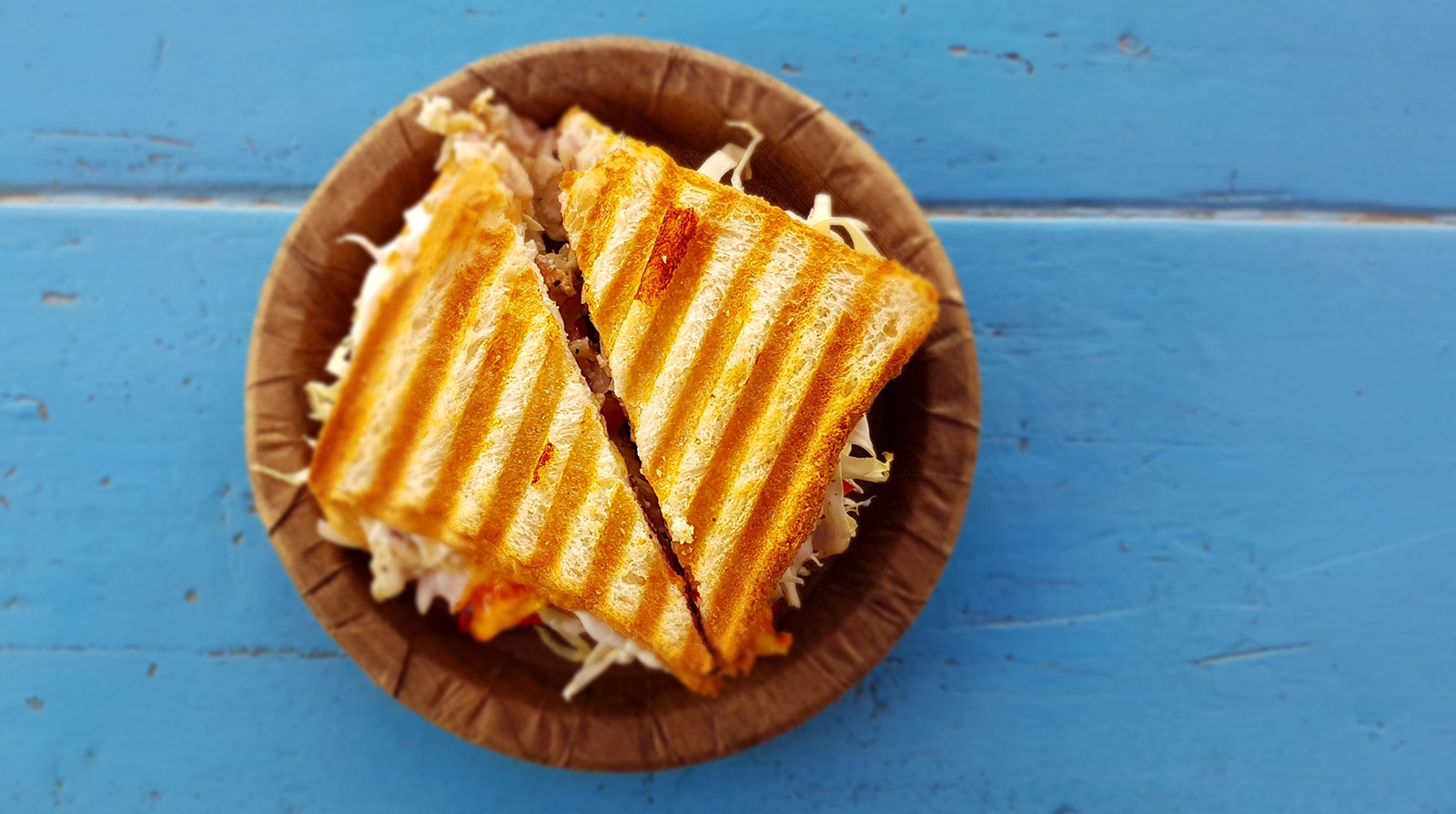 Make your best vegan grilled cheese sandwich ever. Photo: Asnim Ansari / Unsplash