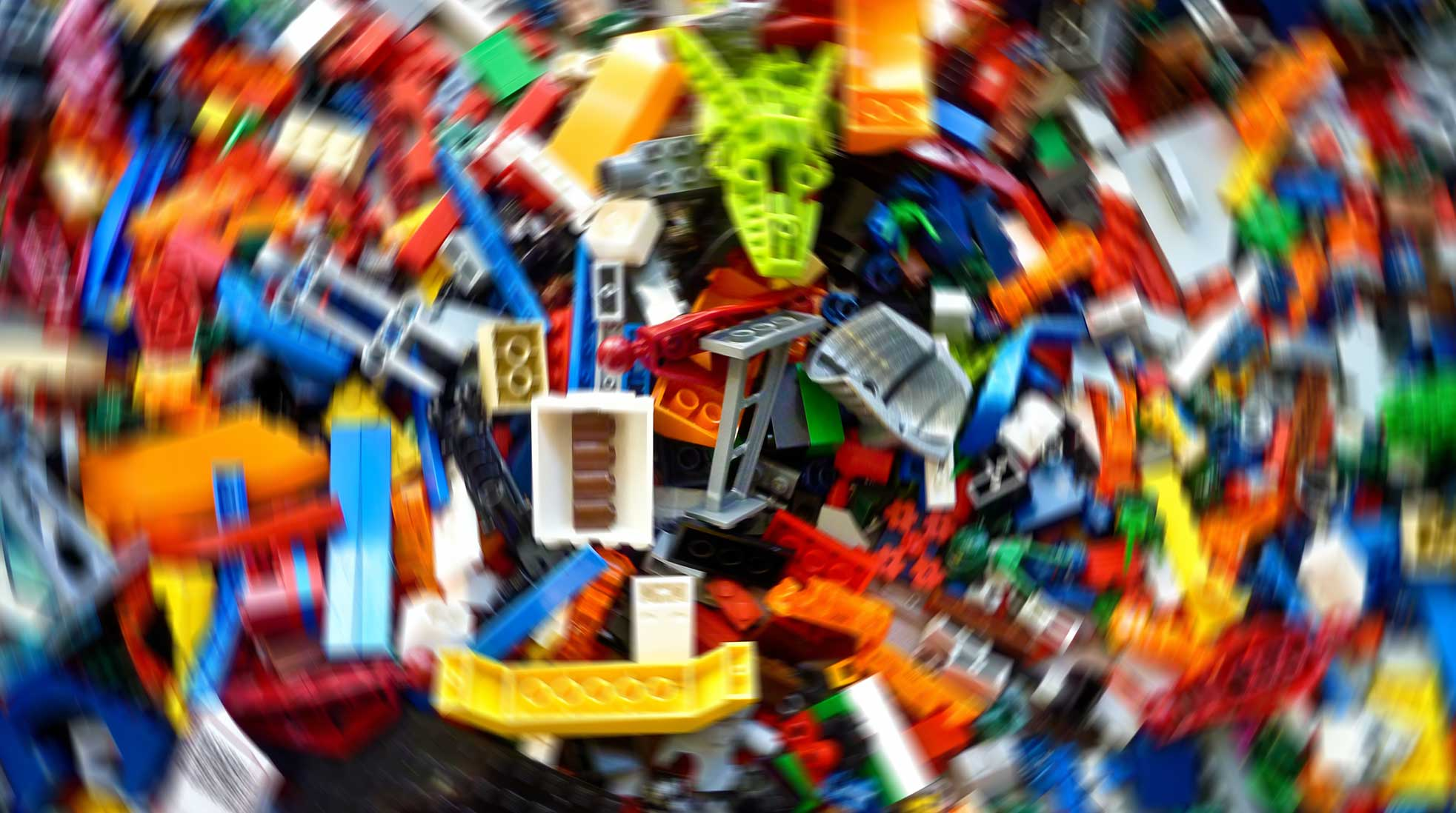Lego. Photo: Rick Mason / Unsplash (image has been modified)