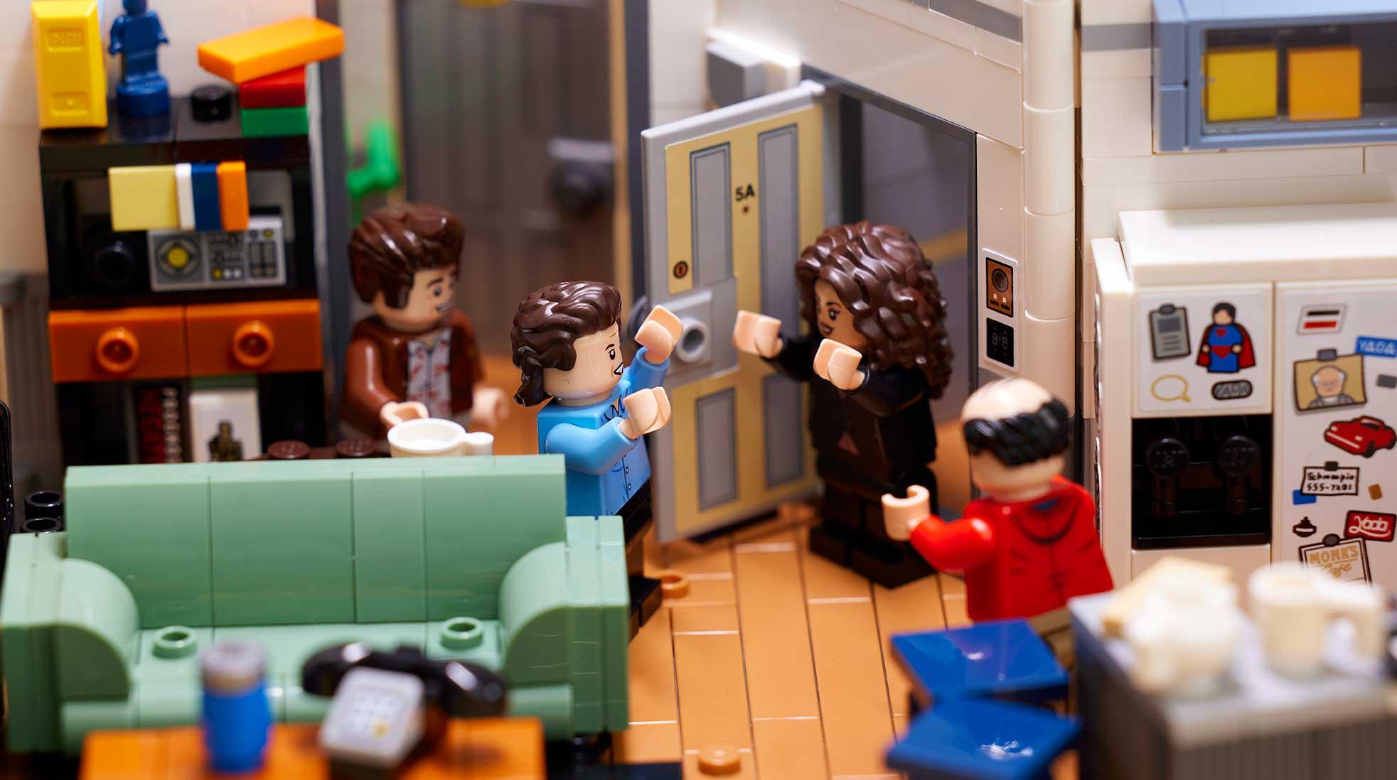 The Seinfeld Lego Ideas set