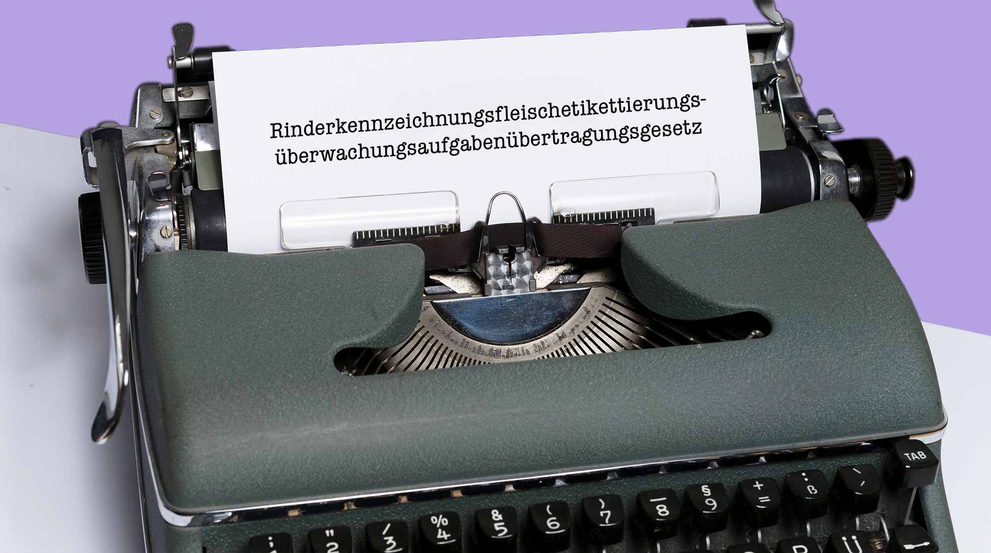 An old German typewriter. Photo:  Markus Winkler / Unsplash (image has been modified).