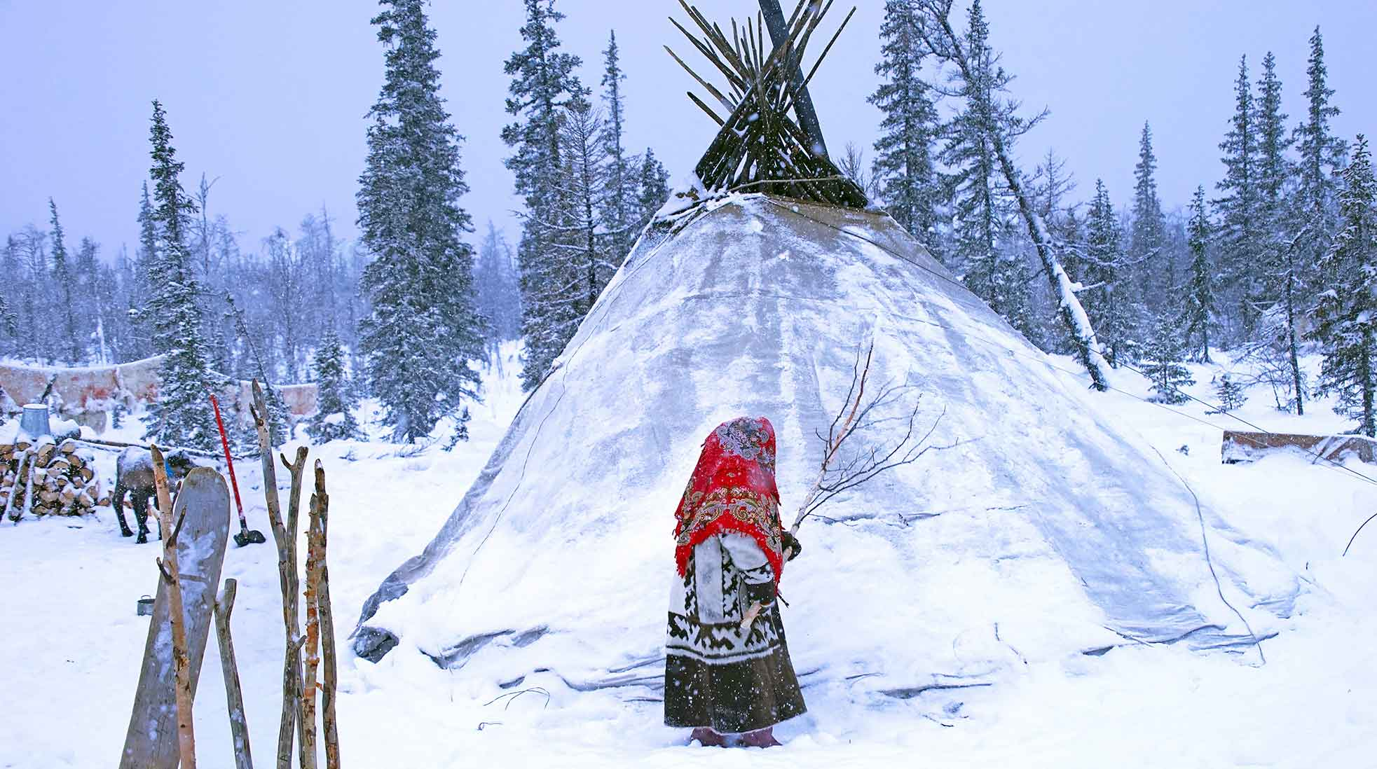Nenets, Northern Siberia, Russia. Photo: Hans-Jurgen Mager / Unsplash