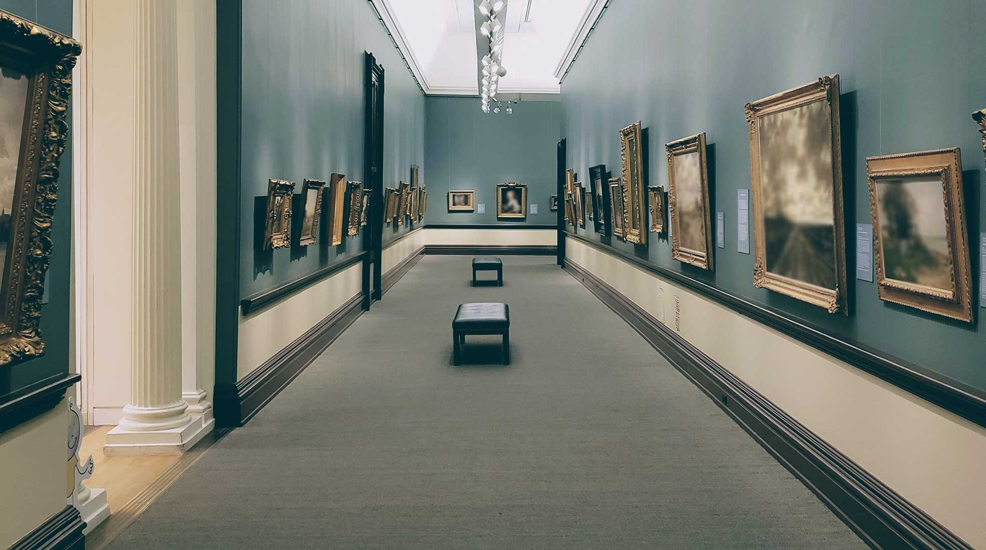 Art gallery. Photo: Bahman Adlou / Unsplash